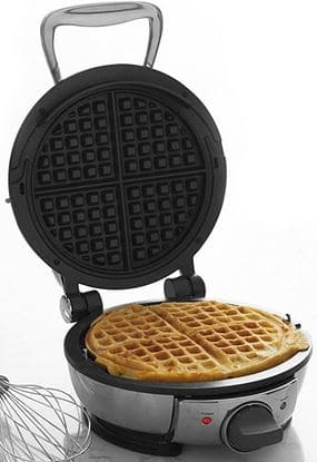 All Clad 99012gt Stainless Steel Clic Round Waffle Maker